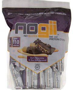 NoGii D'Lites Dark Chocolate Sea Salt Protein Blends, 18 Count