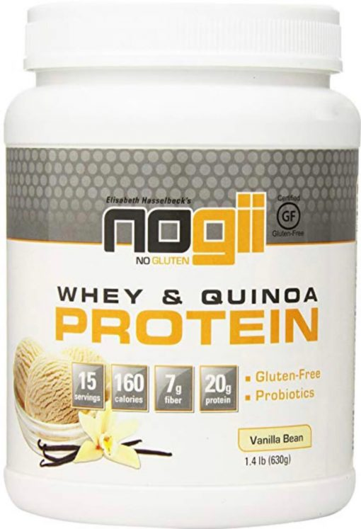 NoGii Protein Powder Vanilla Bean, 1.4 Pound