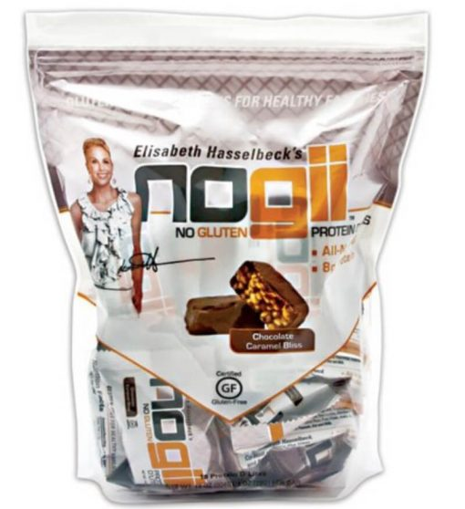 Nogii Protein D'lites Chocolate Caramel Bliss 18 ea