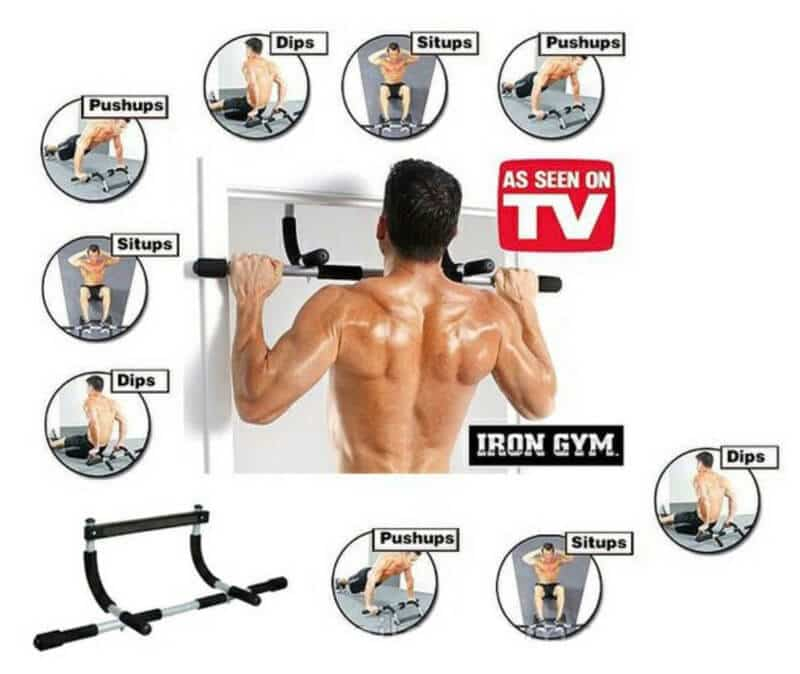 Exercises you can do with this Iron Gym Bar