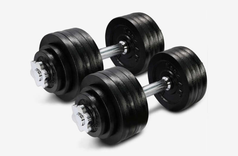 Selectorized Dumbbells are more flexible