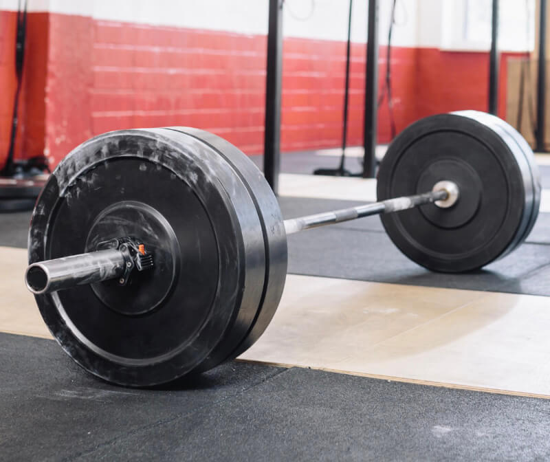 The average size of the barbell