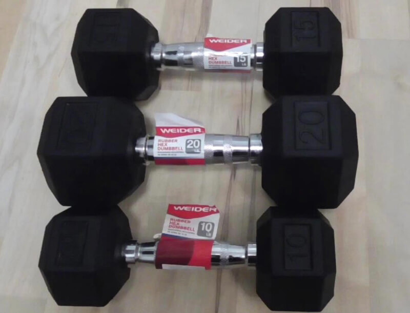 Weider Adjustable Dumbbells Review