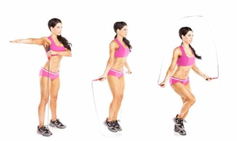 Consider the length of your jump rope - whether it's long enough or not?