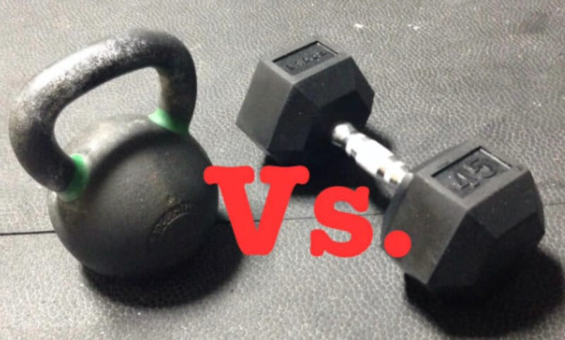 Kettlebell vs Dumbbell