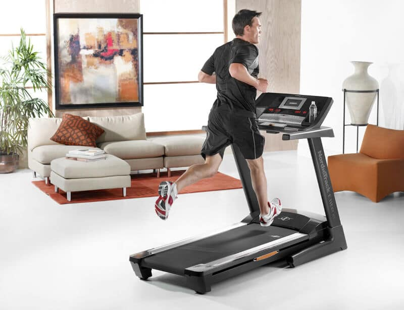 Treadmill is useful for home fitness