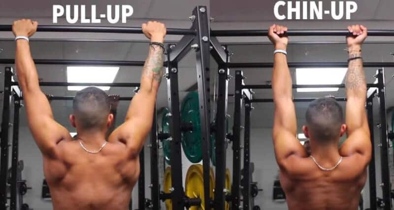 two of the most common upper body exercises