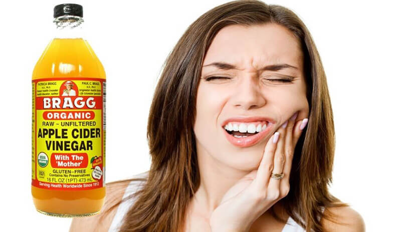 Apple cider vinegar for toothache