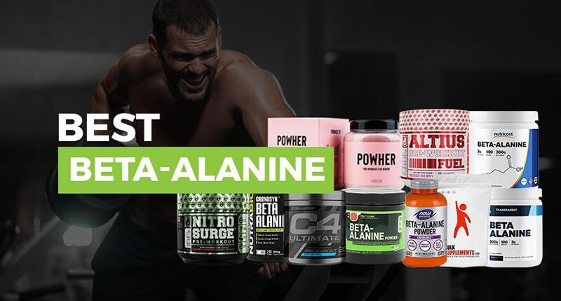 Best Beta-Alanine Supplements – Top 10 Brands Reviewed for 2019