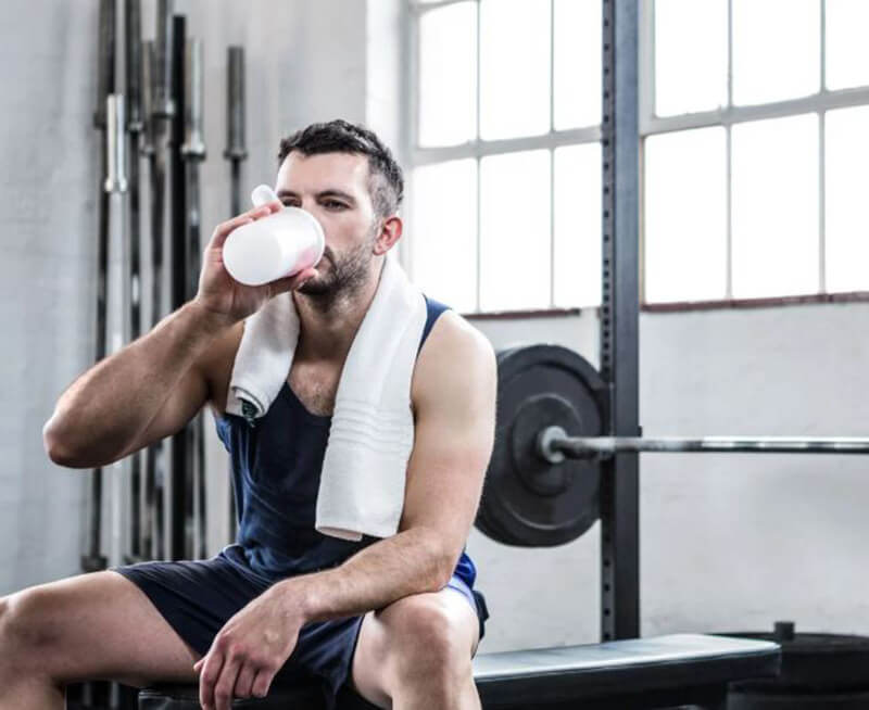 Is protein powder good for building muscle?
