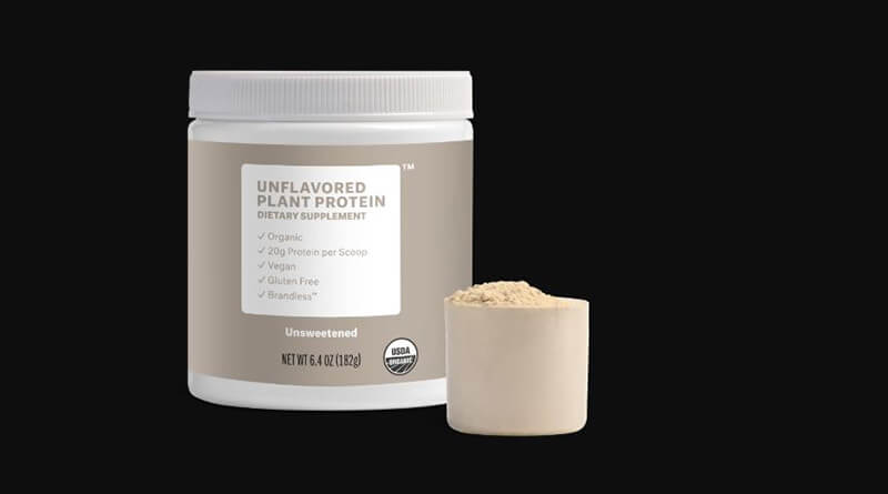 What can you mix with unflavored protein powder?