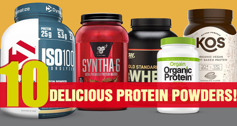 Who Makes The Best Tasting Protein Powder?