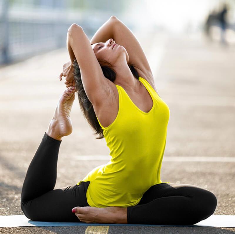 Yoga for more elasticity