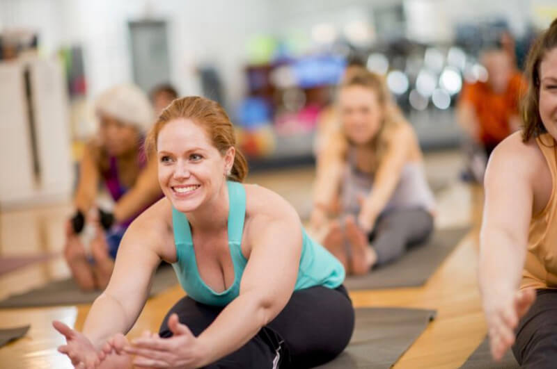 Yoga help you be more positive